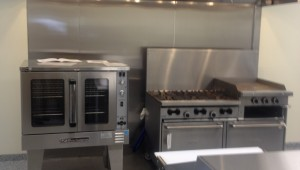 Commercial range and ovens