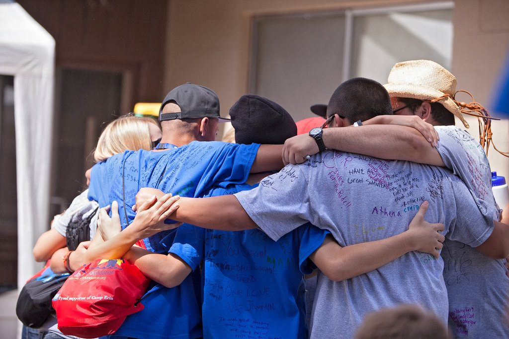 Grieving Children at Camp Erin